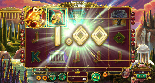 the golden owl of athena win